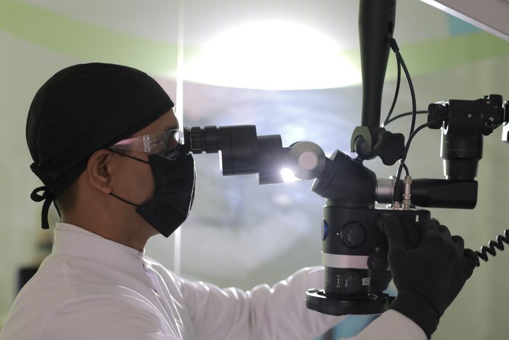 Microscope, Flexion, CJ-Optik