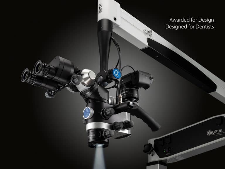 CJ-Optik, Flexion Advanced SensorUnit, dental microscope, awarded for design, designed for dentists